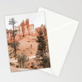 Landscape Of Bryce National Park Photo | Utah Nature Art Print | USA Digital Travel Photography Stationery Cards