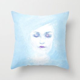 Hail to the winter Throw Pillow