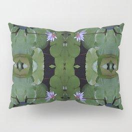 Water Lily Pattern Pillow Sham