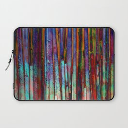 Colored Bamboo 2 Laptop Sleeve