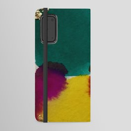 Abstract with Gold Leaf Android Wallet Case