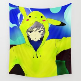 Pika Guy Wall Tapestry