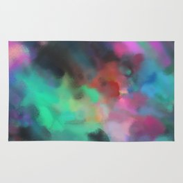 Love of Life Abstract Art Rug
