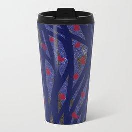 Dark Lines Metal Travel Mug