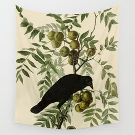 American Crow Wall Tapestry