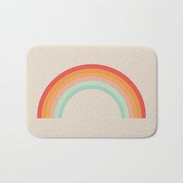 Vintage Rainbow Bath Mat