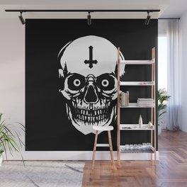 Most Ugly Satanic Skull Wall Mural