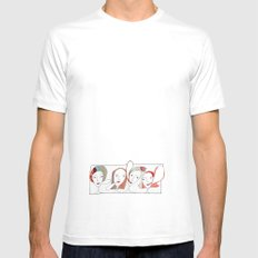 Le Quattro Grazie MEDIUM Mens Fitted Tee White