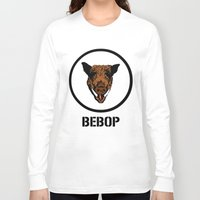 cowboy bebop Long Sleeve T-shirts featuring Bebop | TMNT by Silvio Ledbetter