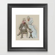 The Cultured Vultures Framed Art Print