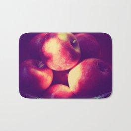 Apples apples crunch crunch crunch :) Bath Mat