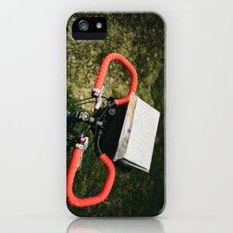 Bicycle Touring iPhone Case