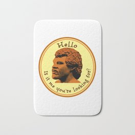 Hello, Is it me you're looking for? Lionel Bath Mat