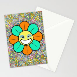 SUPER FLOWER POWER Stationery Cards