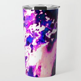 wild Purple Travel Mug