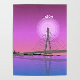 Lekki Ikoyi Bridge Lagos Poster