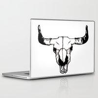 pun Laptop & iPad Skins featuring terri-bull pun by gabkl