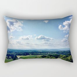 View from the tippy top Rectangular Pillow