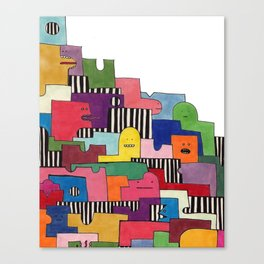 Friendlies Canvas Print