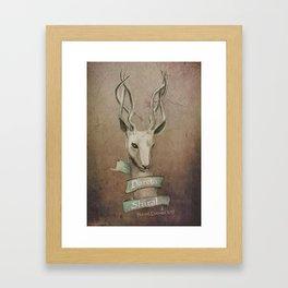 Halla Framed Art Print