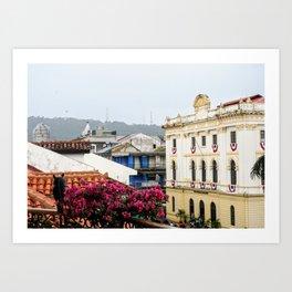 Panama Art Print