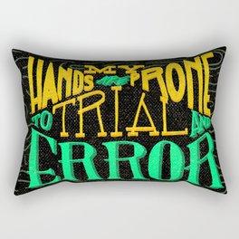 Trial and Error Rectangular Pillow