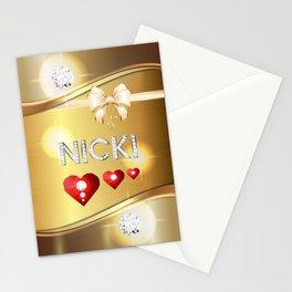 Nicki 01 Stationery Cards