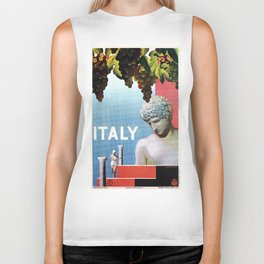 Travel to Italy in 1935 Biker Tank