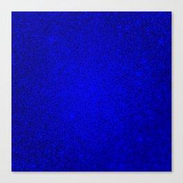 Opal Blue Sparkling Jewels Pattern Canvas Print