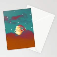Santa Clouds Stationery Cards