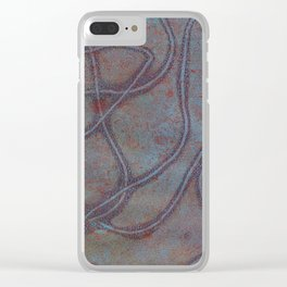 Abstract No. 87 Clear iPhone Case