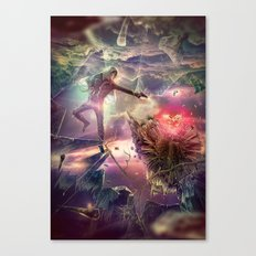 The Heart of Darkness Canvas Print
