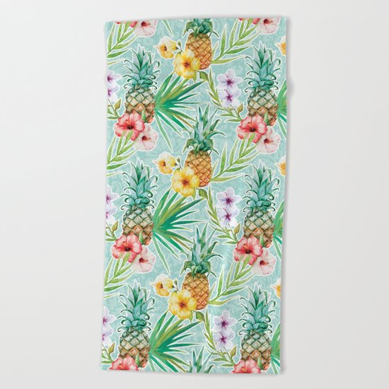 Tropical Summer #6 Beach Towel