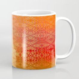 Diamonds Going On Forever (orange) Coffee Mug