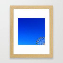 The Plane. Framed Art Print