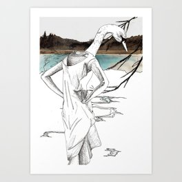 Cycnus Art Print