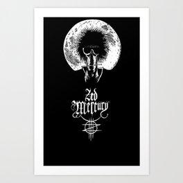 Zed Mercury: Psychopomp - Full Moon, DARK! Art Print