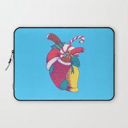 Christmas Heart Laptop Sleeve