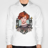 hayley williams Hoodies featuring Hayley Williams  by Will Costa