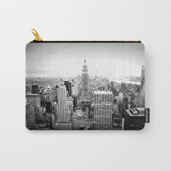 New York City Black & White Carry-All Pouch