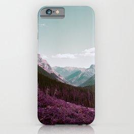 Lomochrome Purple Mountains iPhone Case