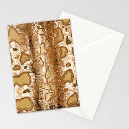 Wild Snake Skin Stationery Cards