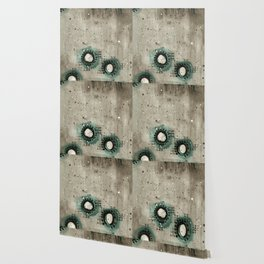 Sepia Circles Low Wallpaper