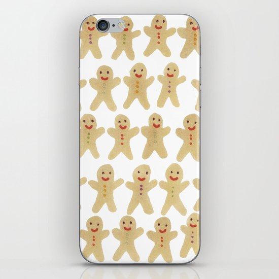 Gingerbread people iPhone & iPod Skin