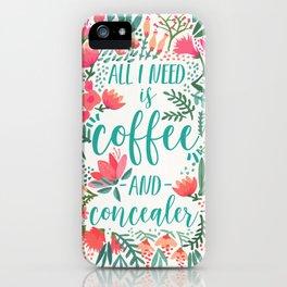 Coffee & Concealer – Juicy Palette iPhone Case