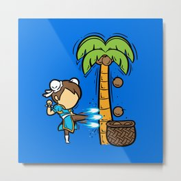 Part Time Job - Coconut Farm Metal Print