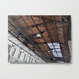 History in the Rafters Metal Print
