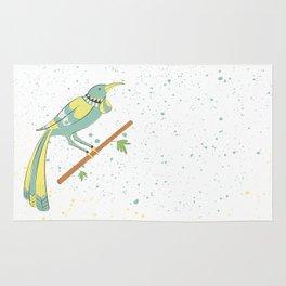 New Zealand Native Birds - Tui Rug
