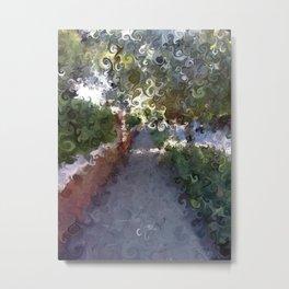 City Sidewalk, Afternoon Metal Print