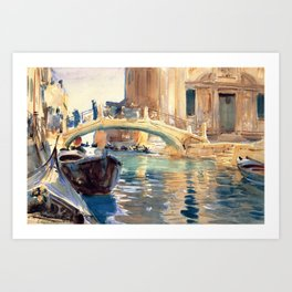 John Singer Sargent San Giuseppe Di Castello Venice Art Print